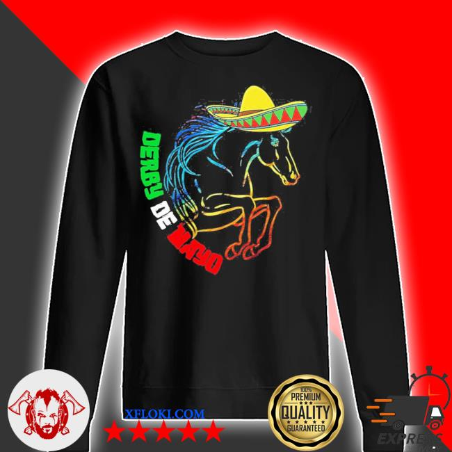 Derby de mayo Kentucky horse race Mexico new 2021 s sweater