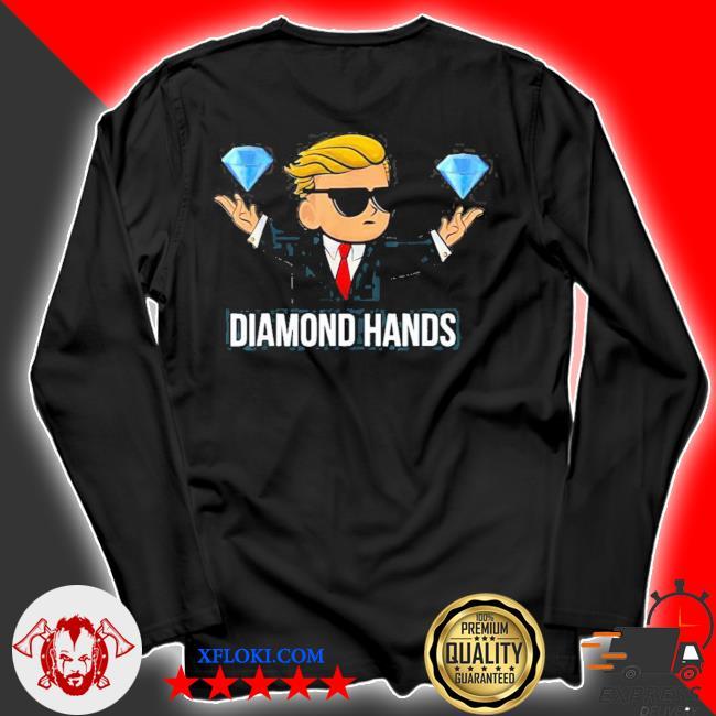 Diamond hands wallstreetbets tendies essential new 2021 s longsleeve