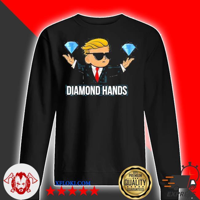 Diamond hands wallstreetbets tendies essential new 2021 s sweater