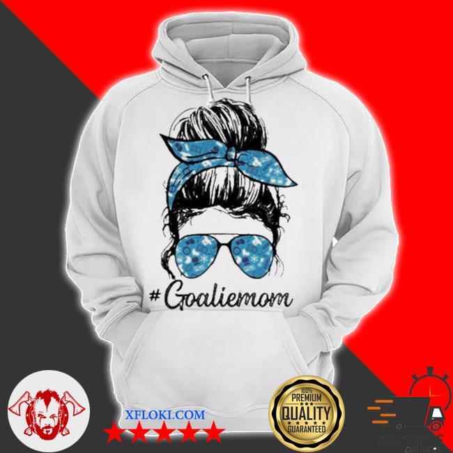Goalie mom girl s hoodie