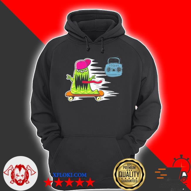 GraffitI monster skateboarding monster radio jamming new 2021 s hoodie