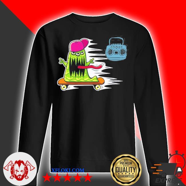 GraffitI monster skateboarding monster radio jamming new 2021 s sweater