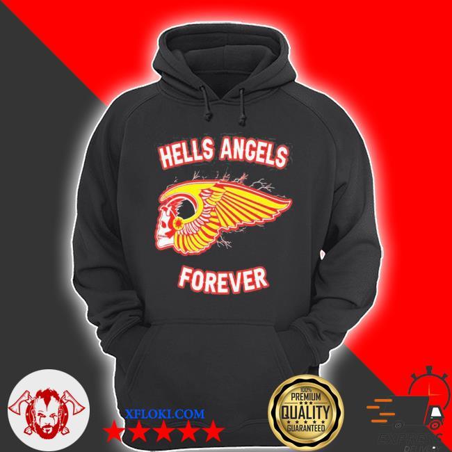 Hells angels forever 2021 s hoodie