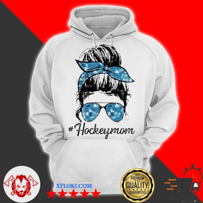 Hockey mom girl s hoodie