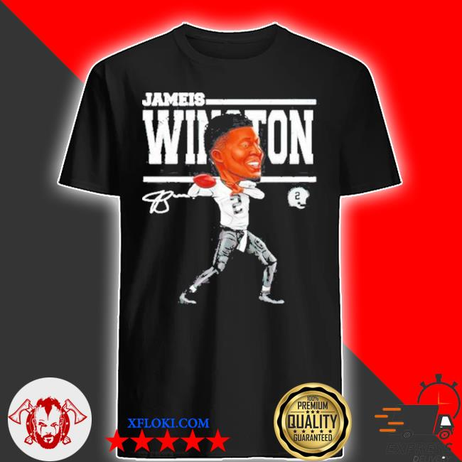 Jameis winston cartoon signature shirt
