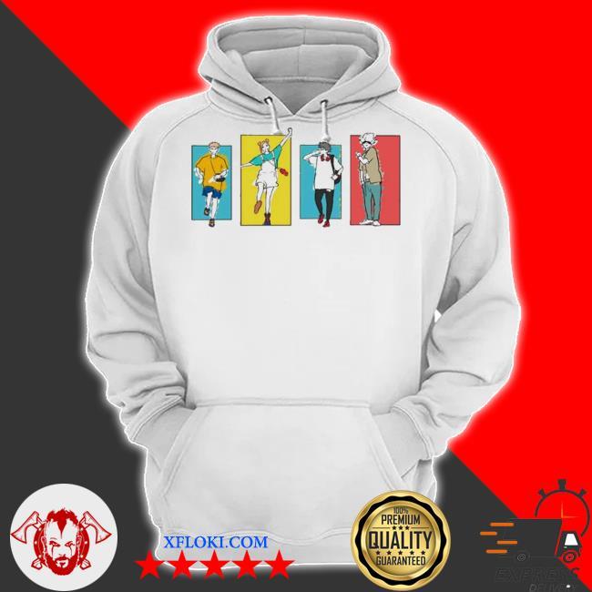 Jujutsu kaisen friends s hoodie