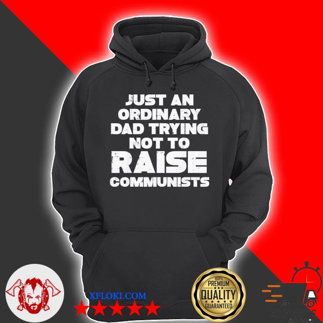 Just an ordinary dad trying not to raise communists classic s hoodie