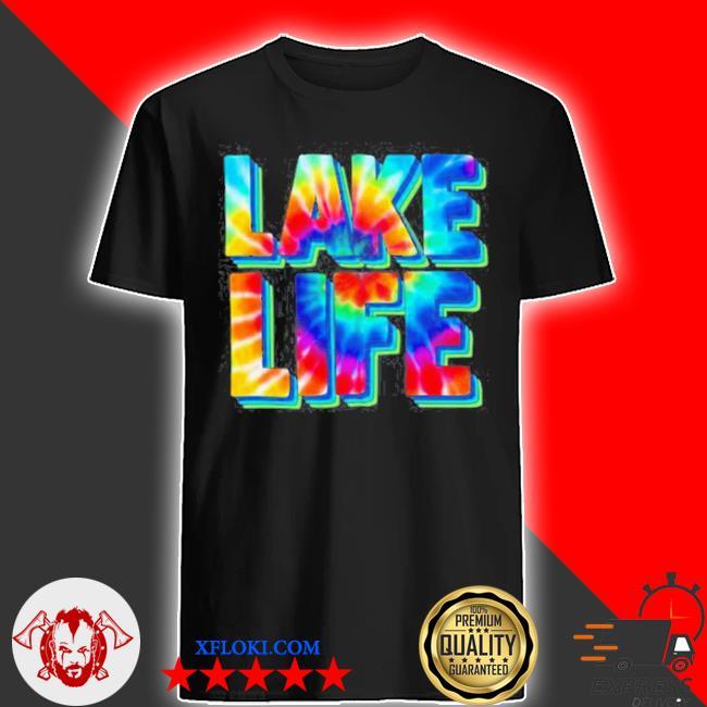 Lake life watercolor shirt