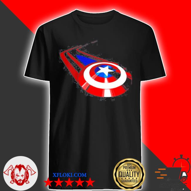 Logo captain America Marvel studios shirt