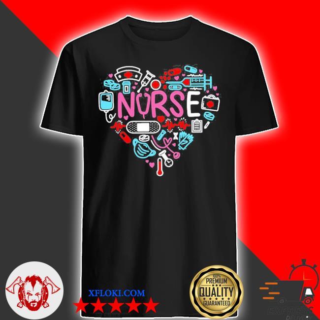 Love nurse nurse nurses new 2021 shirt
