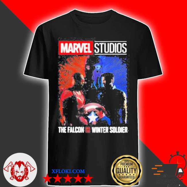 Marvel studios falcon and winter soldier shirt