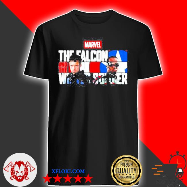 Marvel the falcon and the winter soldier captain America shirt