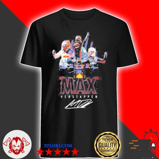 Max verstappen signature 2021 shirt