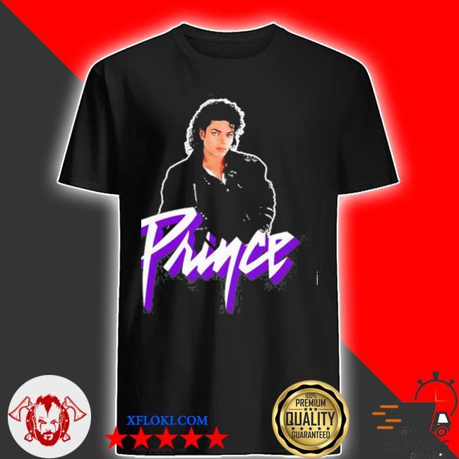 Michael jackson prince shirt