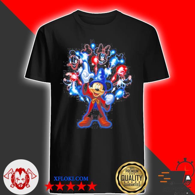 Mickey firework shirt