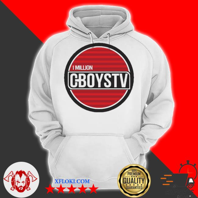Million cboystv life wide new 2021 s hoodie