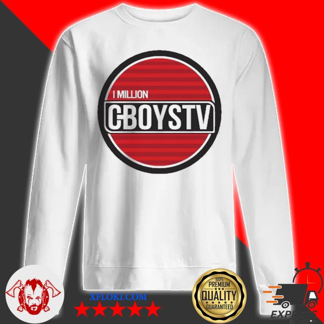 Million cboystv life wide new 2021 s sweatshirt