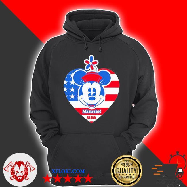 Minnie mouse americana usa s hoodie