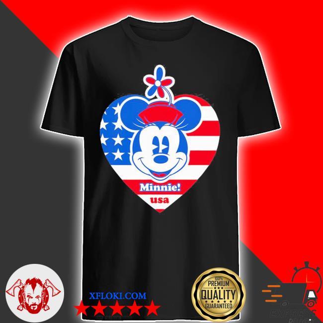 Minnie mouse americana usa shirt