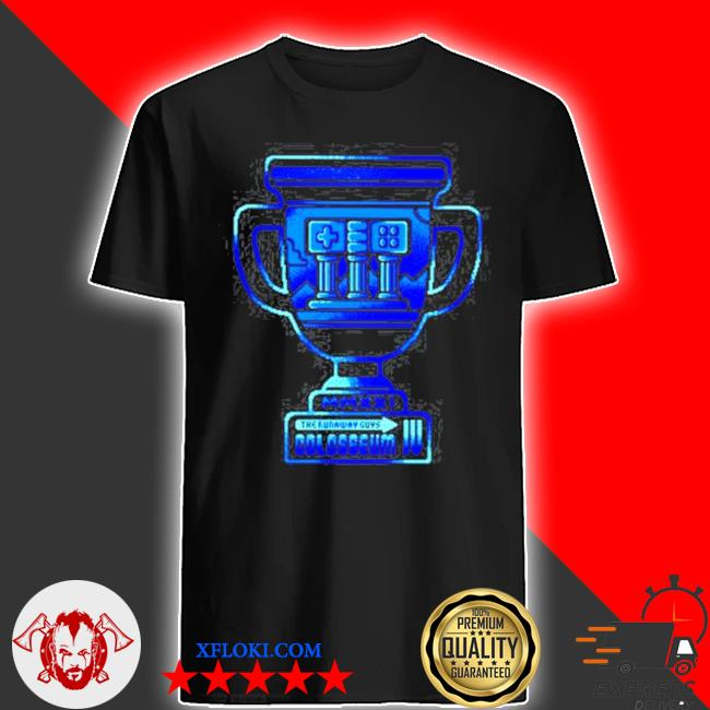 MmxxI the runaway guys colosseum iv shirt