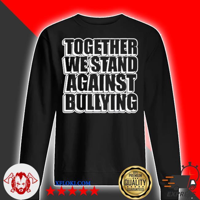 Mobbing prävention gemeinsam gegen mobbing s sweater