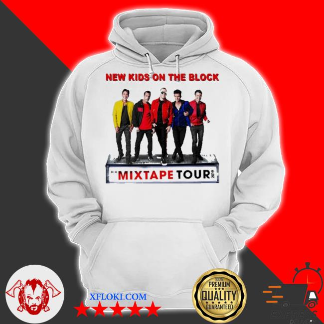 New kid on the block the mixtape tour 2019 s hoodie