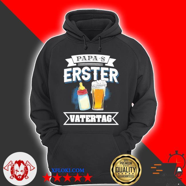 Papas erster vatertag vater baby flasche papa dad langarm new 2021 s hoodie