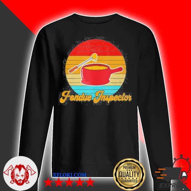 Retro fondue inspector s sweater