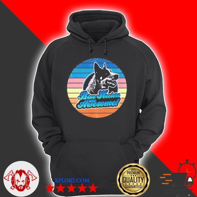 Retro Heeler Australian cattle dog 60s 70s new 2021 s hoodie