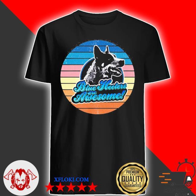 Retro Heeler Australian cattle dog 60s 70s new 2021 shirt