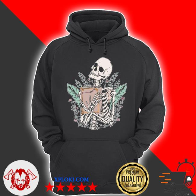 Skeleton spell book witchcraft gothic occult wicca goth girl new 2021 s hoodie