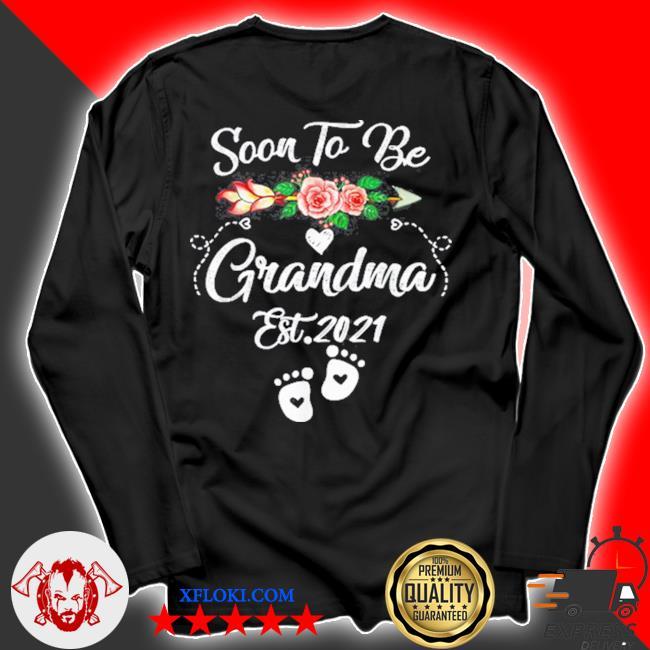 Soon to be grandma 2021 mother's day for grandma pregnancy s longsleeve