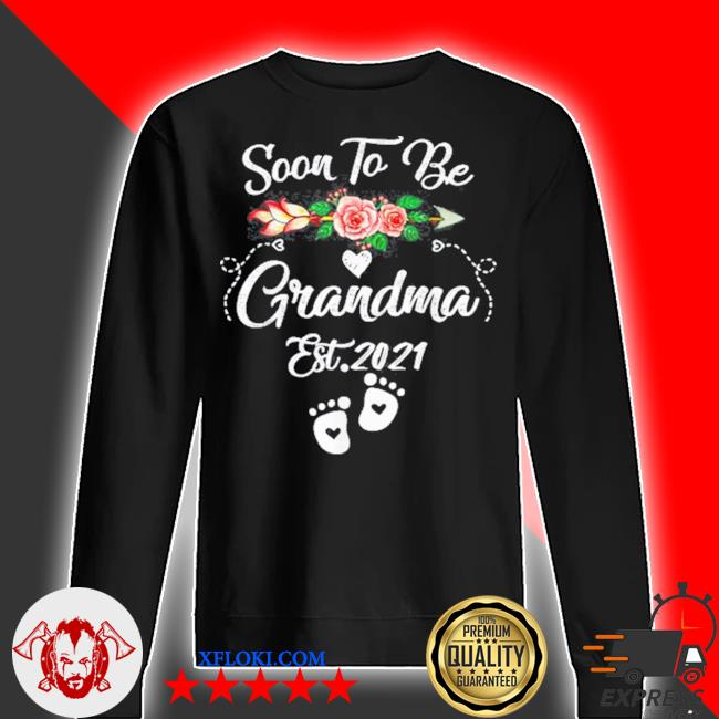 Soon to be grandma 2021 mother's day for grandma pregnancy s sweater
