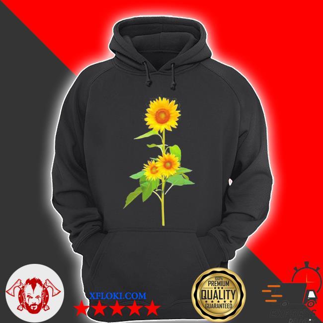 Sunflower flower garden yellow girasol flor new 2021 s hoodie