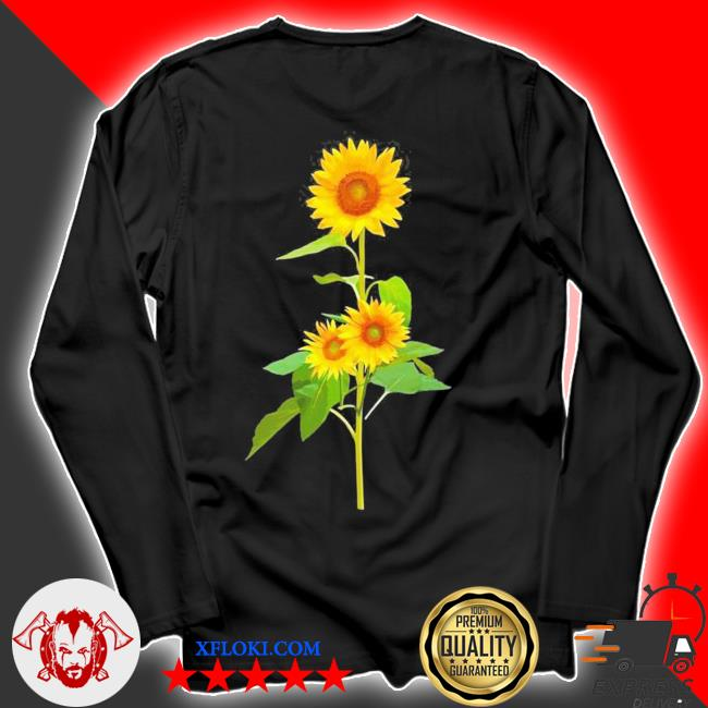 Sunflower flower garden yellow girasol flor new 2021 s longsleeve