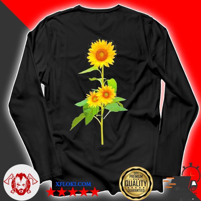 Sunflower flower garden yellow girasol flor new 2021 s longsleeve
