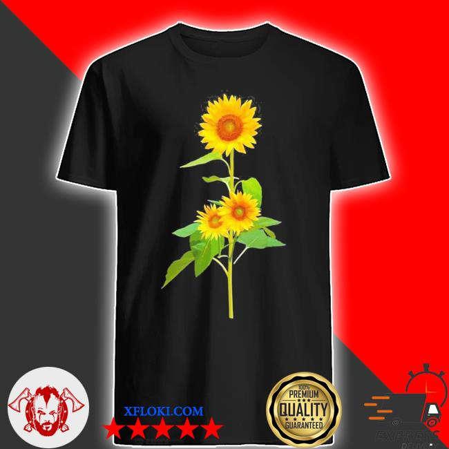Sunflower flower garden yellow girasol flor new 2021 shirt