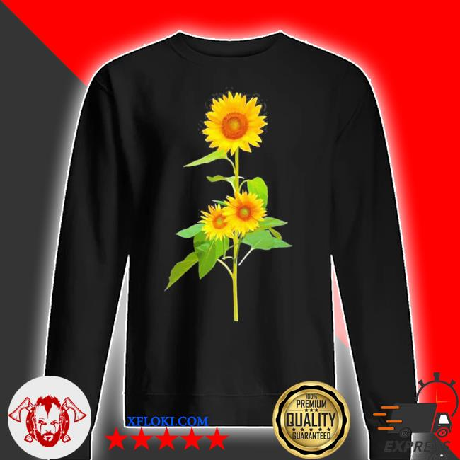 Sunflower flower garden yellow girasol flor new 2021 s sweater