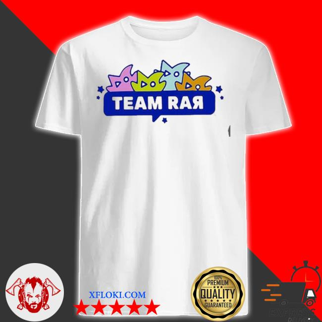 Team rar monsters shirt