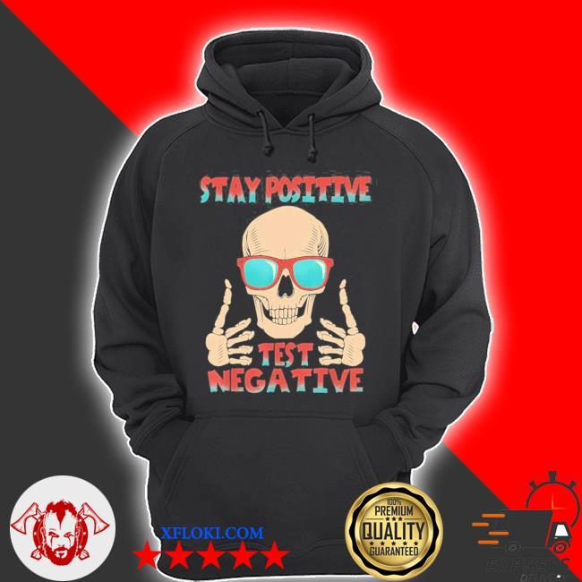 "Totenkopf sch""del skelett positiv bleiben negativ testen new 2021 s hoodie"