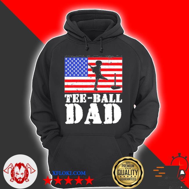 Usa American distressed flagball dad men for him s hoodie