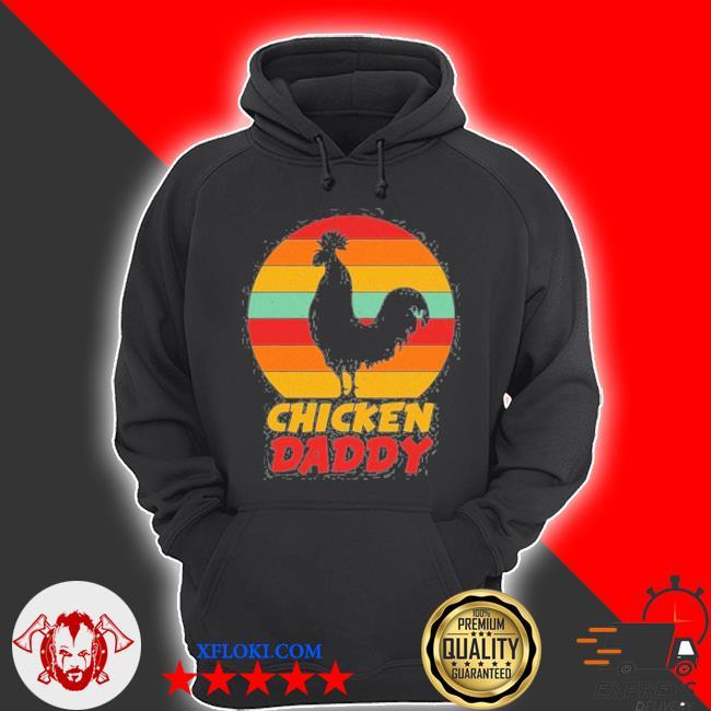 Vintage chicken daddy farmer country farm men boys s hoodie