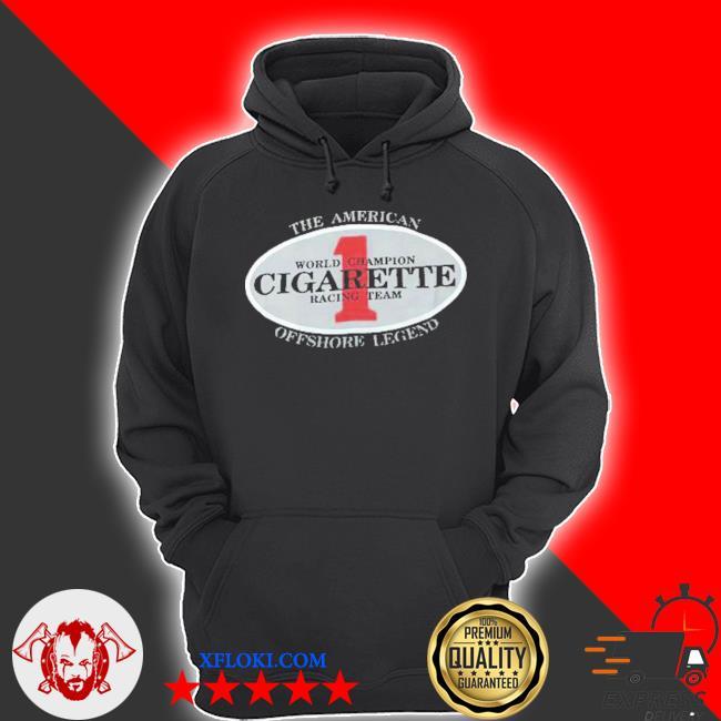 Vintage cigarette racing team s hoodie