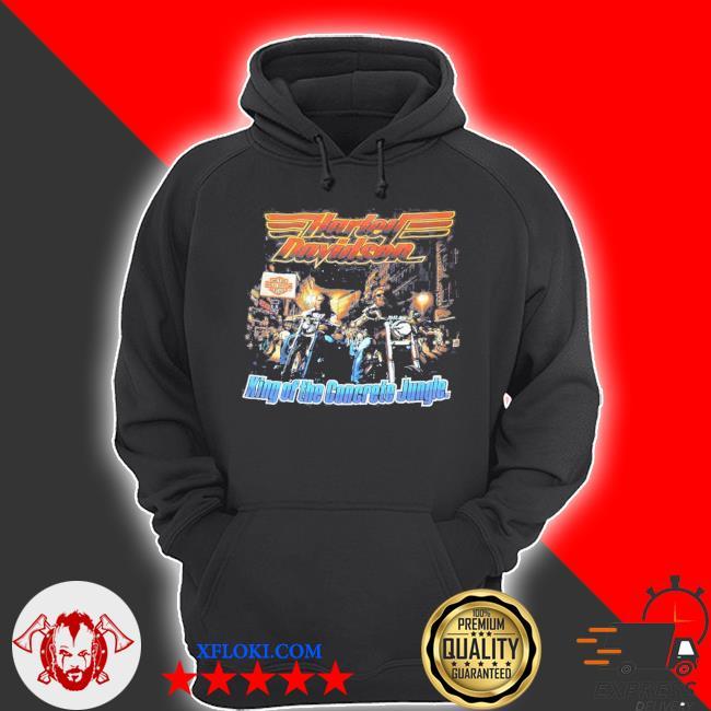 Vintage harley davidson s hoodie