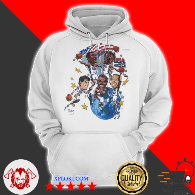 Vintage usa dream team s hoodie