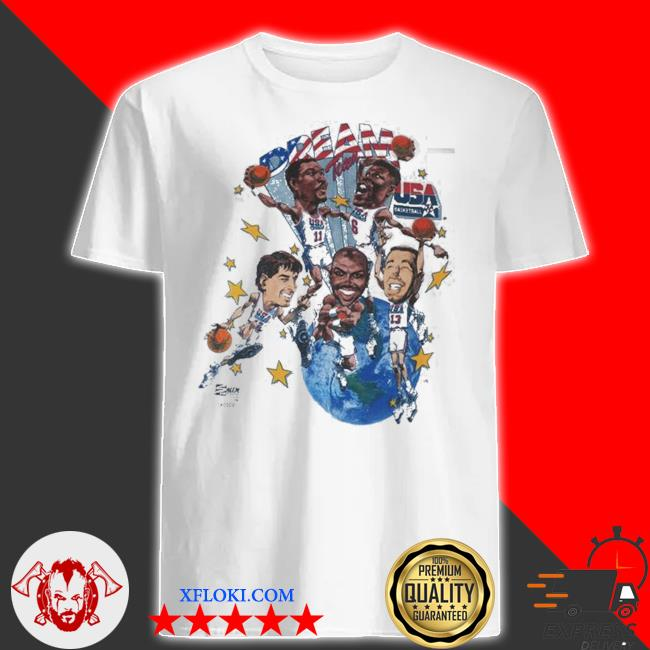 Vintage usa dream team shirt