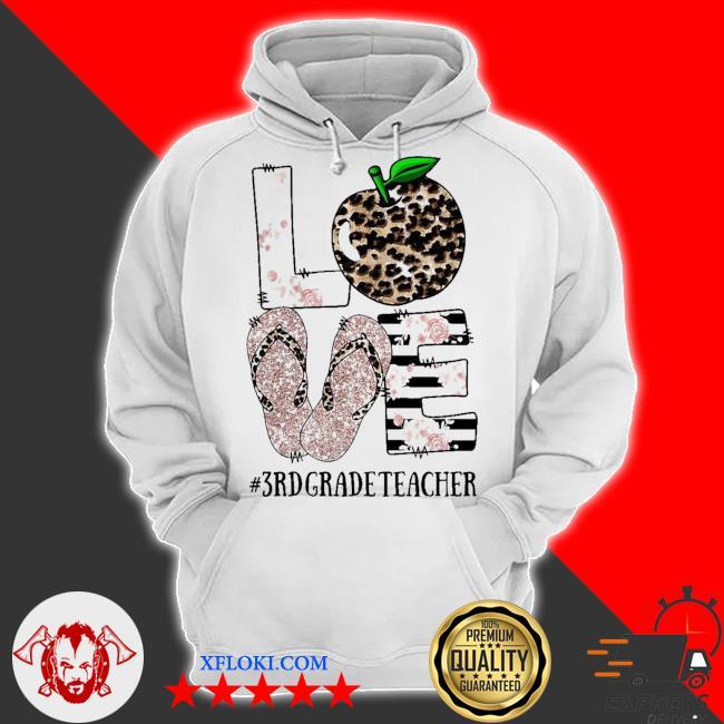 Vip sandals leopard love 3rd grade teacher new 2021 s hoodie