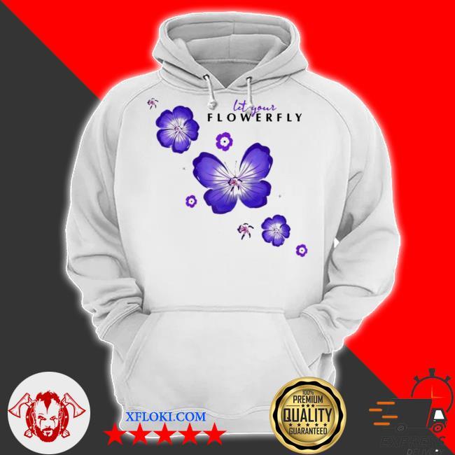 Womens flowerfly let your flowerfly new 2021 s hoodie