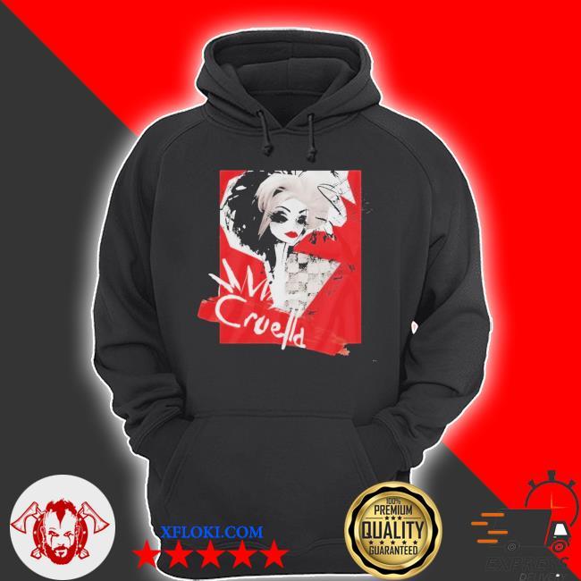 Cruella Fashion Model Cruella Collage Unisex Shirt hoodie