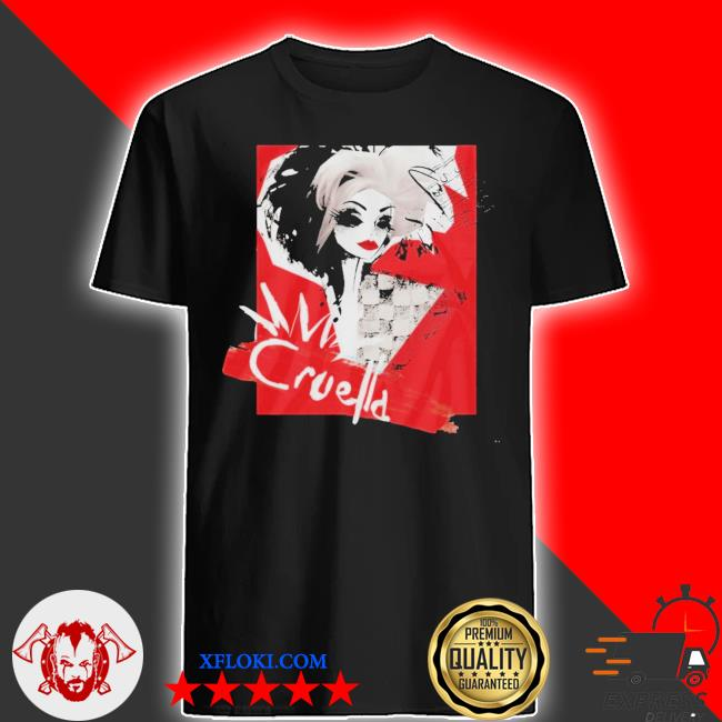 Cruella Fashion Model Cruella Collage Unisex Shirt